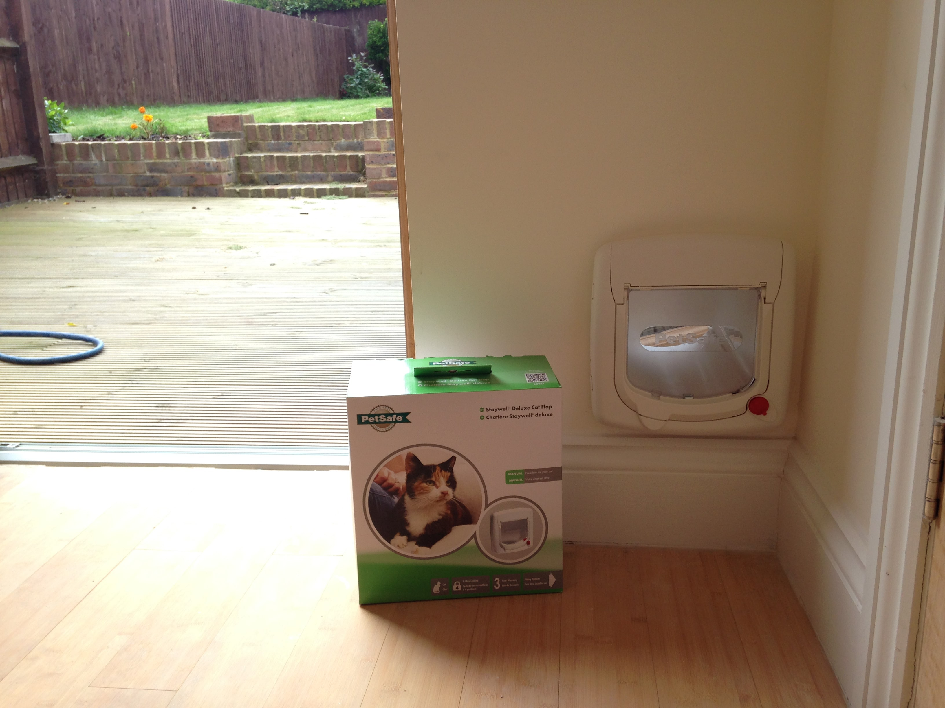 Staywell Deluxe Cat Flap Ask Ben Handyman